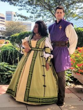 Lady Poppy & Knight Cyrenic Photographer: CatCosmos