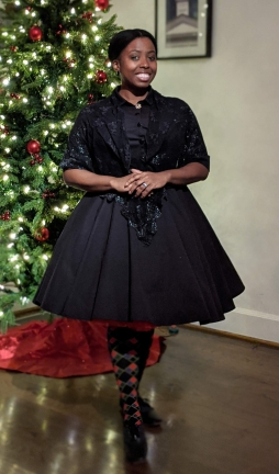 Black as my holiday heart